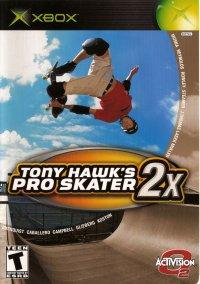 Обложка Tony Hawk's Pro Skater 2X