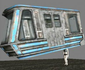 Геймдизайн от бога: в Fallout 3 поезд был «прикреплен» к голове героя