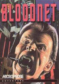 Обложка BloodNet: A Cyberpunk Gothic