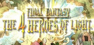 Final Fantasy: The 4 Heroes of Light. Видео #1