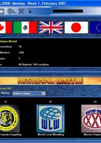 Обложка Total Extreme Wrestling 2008
