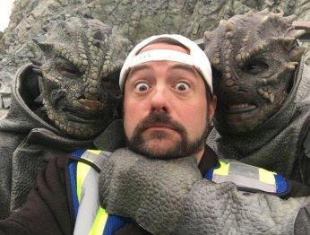 Кевин Смит попал в плен к пришельцам ради «Супергерл»