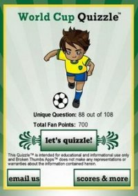World Soccer Quizzle – фото обложки игры