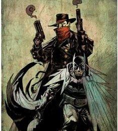В новом кроссовере Бэтмен встретится с таинственным супергероем Тенью