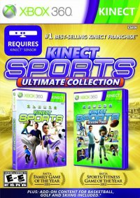 Обложка Kinect Sports: Ultimate Collection