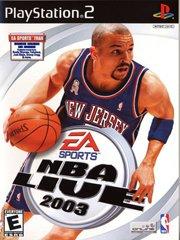 Обложка NBA Live 2003