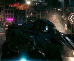 Бэтмобиль мчится по потолку в трейлере Batman: Arkham Knight