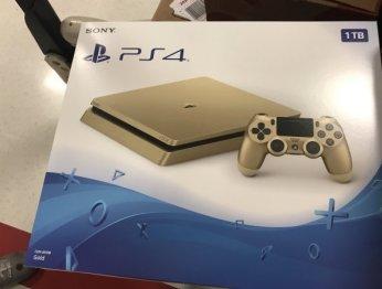 Слух: Sony выпустит золотую (!!!) версию PlayStation 4 Slim на1 TB