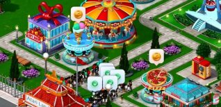 RollerCoaster Tycoon 4 Mobile. Видео #1