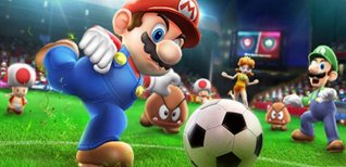 Mario Sports Superstars. Футбол