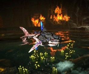 Стреляющая лазерами акула?! Время вернуться вARK Survival Evolved