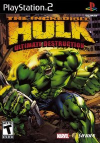 The Incredible Hulk: Ultimate Destruction – фото обложки игры