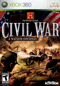 Обложка The History Channel's Civil War: A Nation Divided