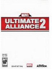 Обложка Marvel Ultimate Alliance 2