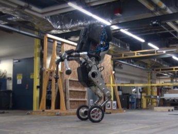 Boston Dynamics показала нового робота Handle