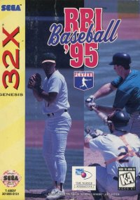 Обложка RBI Baseball '95