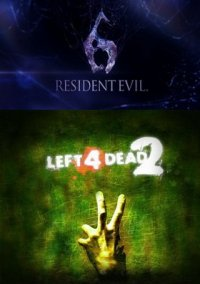 Обложка Resident Evil 6 x Left 4 Dead 2 Crossover Project
