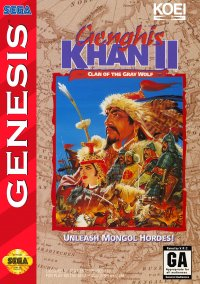 Обложка Genghis Khan II: Clan of the Gray Wolf