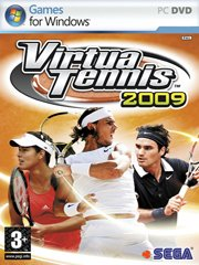 Обложка Virtua Tennis 2009