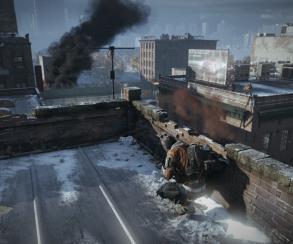 На новых кадрах Tom Clancy's The Division завязался бой на крышах