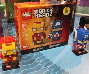 BrickHeadz: Кэп иТони Старк, Бэтмен иДжокер станут квадратноголовыми