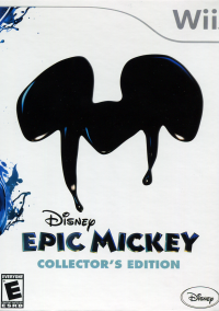 Обложка Disney Epic Mickey Collector's Edition