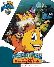 Обложка Freddi Fish and the Case of the Missing Kelp Seeds