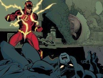 В новом номере «Флэша» есть отсылка к кроссоверу с Бэтменом
