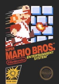 Обложка Super Mario Bros.