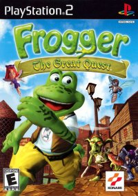 Обложка Frogger: The Great Quest