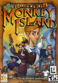 Обложка Escape from Monkey Island