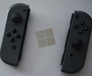 Контроллеры Nintendo Switch работают с Windows