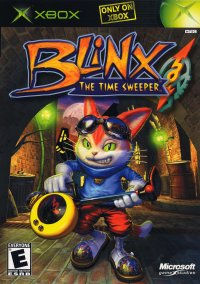 Обложка Blinx: The Time Sweeper