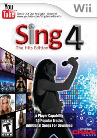 Sing 4: The Hits Edition – фото обложки игры