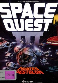 Обложка Space Quest 3: The Pirates of Pestulon