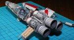 Своими руками: бумага, клей, терпение — готов космический корабль - Изображение 9
