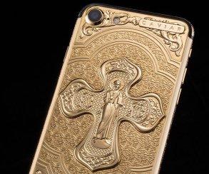 Укрепляем веру: православный iPhone 7 иззолота за200 000 рублей
