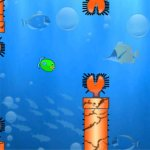 Скриншот Chubby Fish - An Underwater Flying Bird Fish Adventure Game – Изображение 1