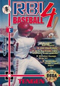 Обложка RBI Baseball 4