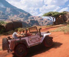 20 минут чистого геймплея Uncharted 4