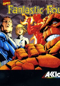 Обложка Fantastic Four