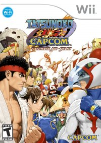 Обложка Tatsunoko vs. Capcom: Ultimate All-Stars