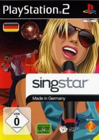Обложка Singstar Made in Germany