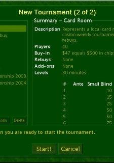 DD Tournament Poker: No Limit Texas Hold'em