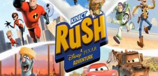 Kinect Rush: A Disney-Pixar Adventure. Видео #3
