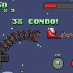 Скриншот Super Mega Worm Vs. Santa – Изображение 4