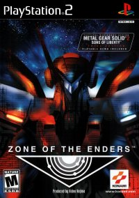Обложка Zone of the Enders