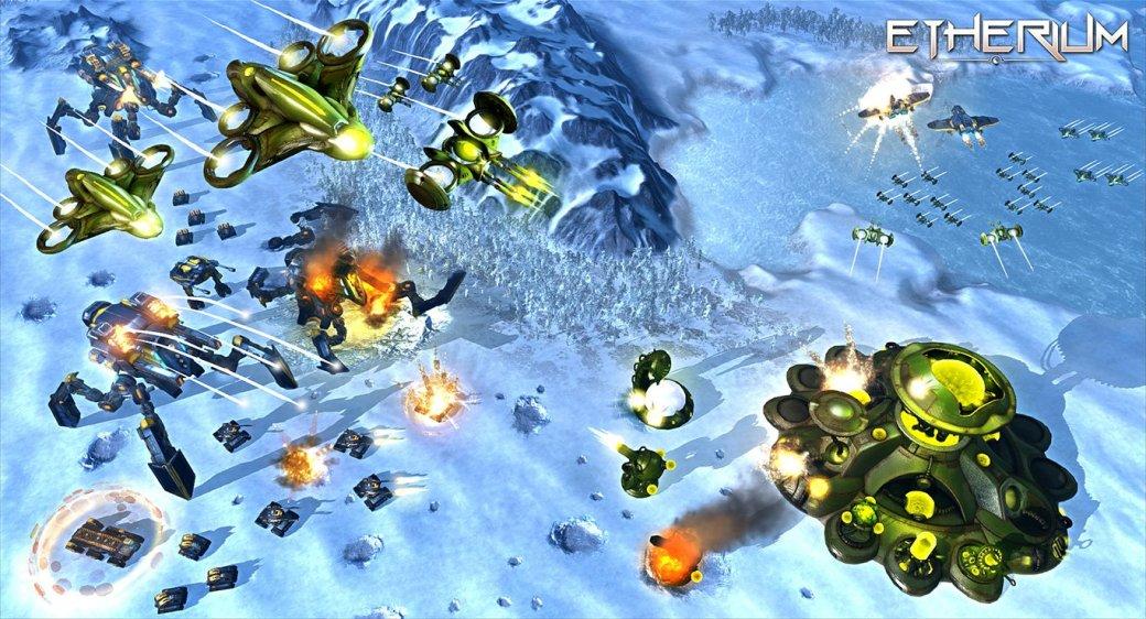 Приготовления завершаются боем в ролике стратегии Etherium - Изображение 1