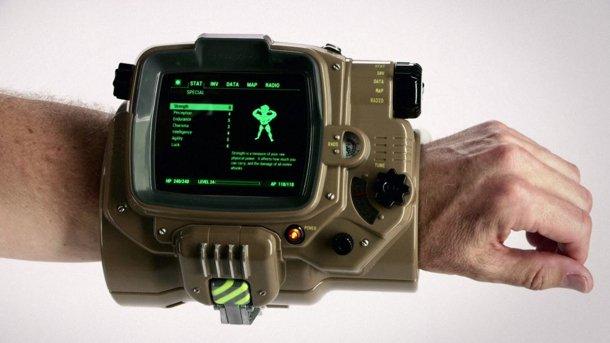 Большие смартфоны не поместятся в реплику Pip-Boy из Fallout 4 - Изображение 1