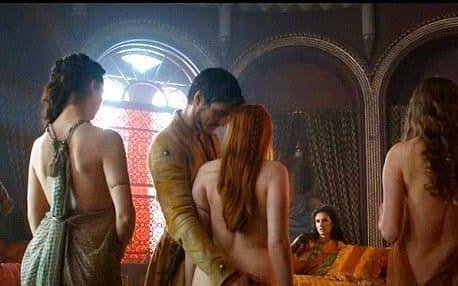 Сцены секса изьсериала игра престолов